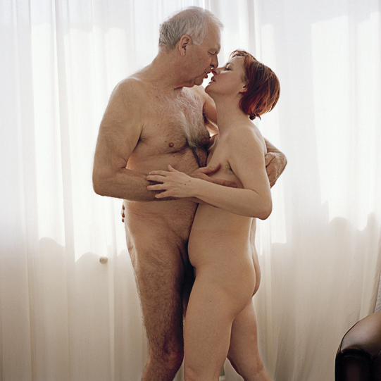 nude old people having sex